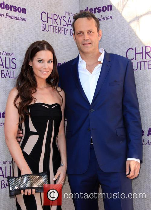 Kyla Weber and Vince Vaughn 3