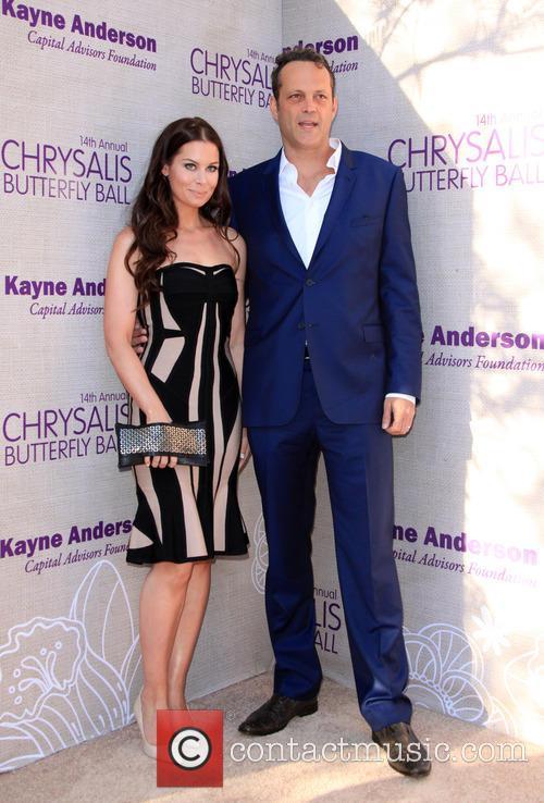 Kyla Weber and Vince Vaughn 5