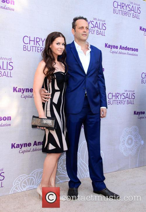 Kyla Weber and Vince Vaughn 1