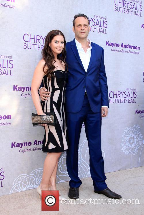 Kyla Weber and Vince Vaughn 6