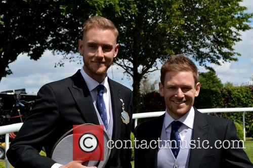 James Taylor and Stuart Broad 1
