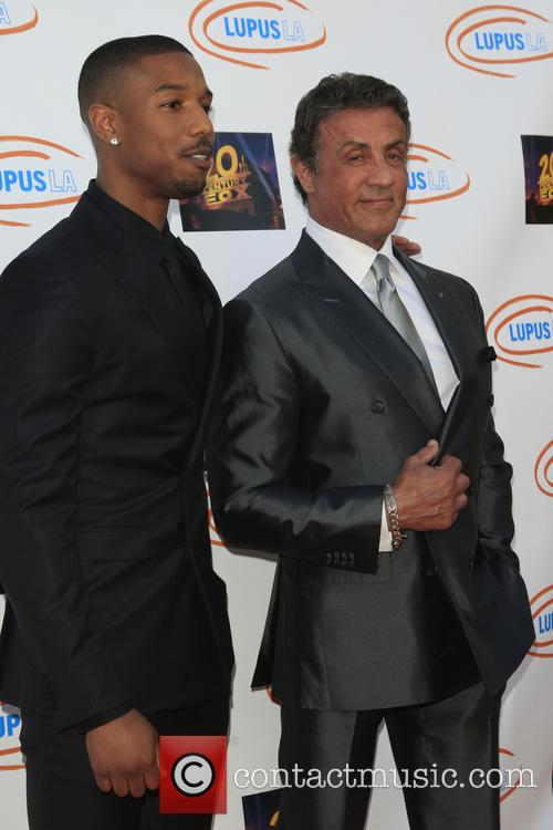 Michael B Jordan and Sylvester Stallone 3