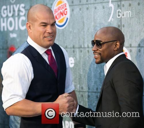 Tito Ortiz and Floyd Mayweather Jr. 2