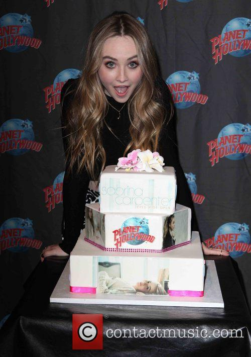 Planet Hollywood presents Sabrina Carpenter