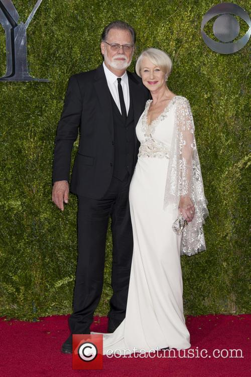 Helen Mirren and Taylor Hackford 2