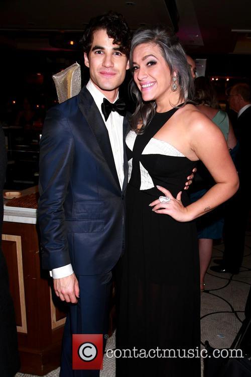 Darren Criss and Mia Swier 2