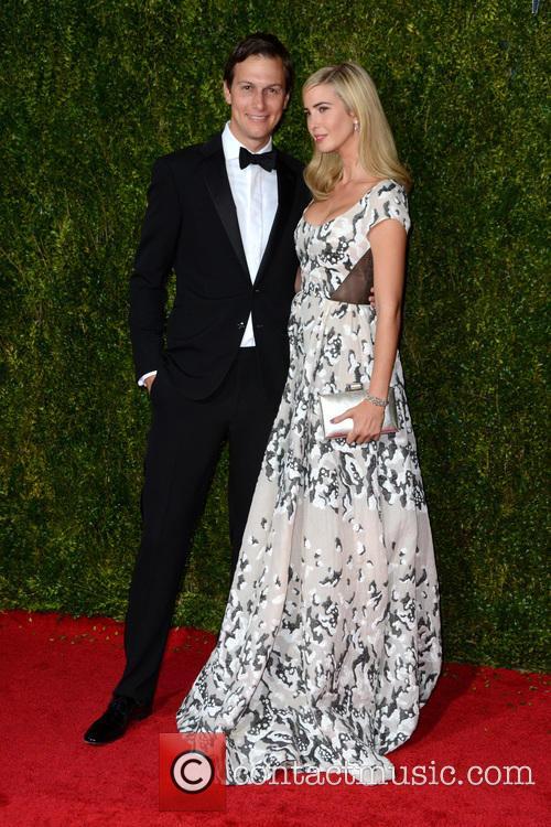 Jared Kushner and Ivanka Trump 2