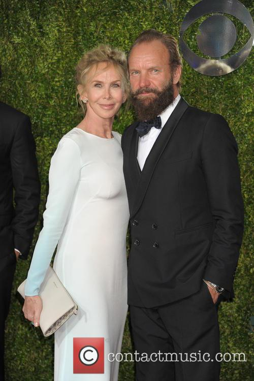 Trudie Styler, Sting and Gordon Sumner 7