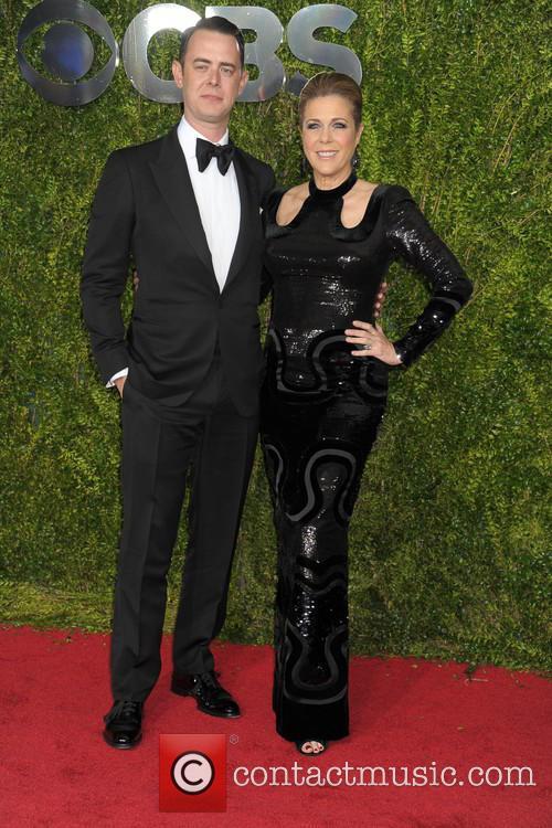 Colin Hanks and Rita Wilson 2