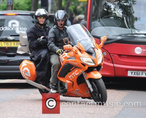 Amanda Holden in London