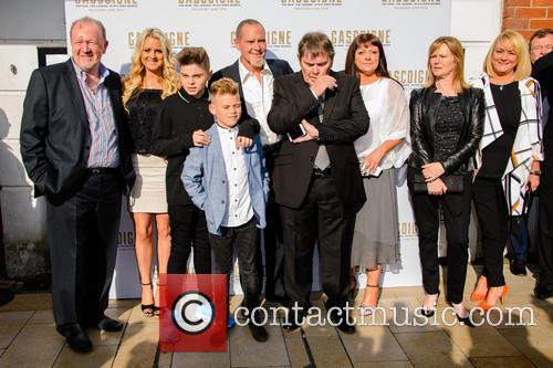 Paul Gascoigne and Family 2