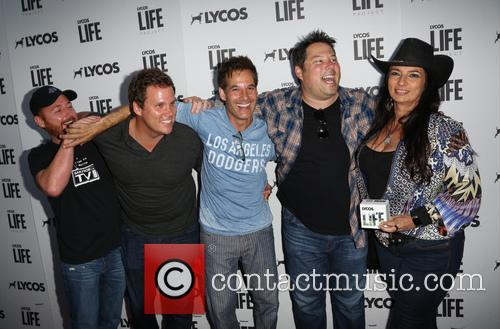 Scott Grimes, Bob Guiney, Adrian Pasdar Greg Grunberg and Alice Amter 2