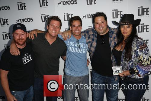 Scott Grimes, Bob Guiney, Adrian Pasdar Greg Grunberg and Alice Amter 3