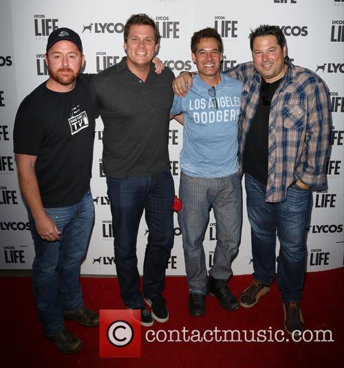 Scott Grimes, Bob Guiney and Adrian Pasdar Greg Grunberg 4