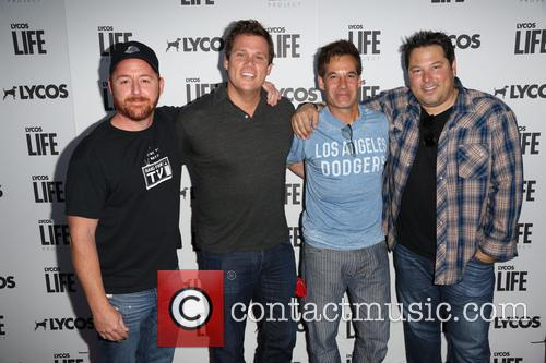 Scott Grimes, Bob Guiney and Adrian Pasdar Greg Grunberg 5