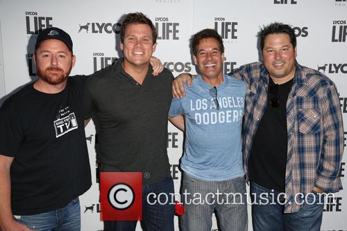 Scott Grimes, Bob Guiney and Adrian Pasdar Greg Grunberg 1
