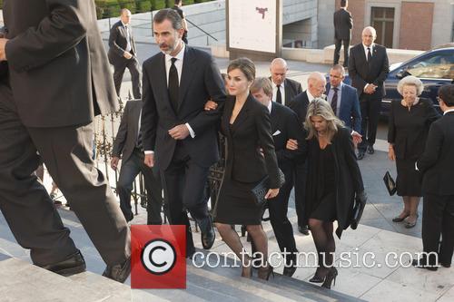 King Felipe Vi, Queen Letizia and Queen Maxima 8