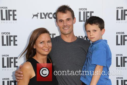 Mary Lynn Rajskub, Matthew Rolph and Valentine Anthony Rolph 7