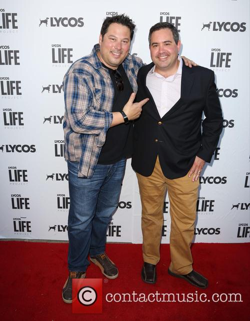 Greg Grunberg and Brad Cohen 9