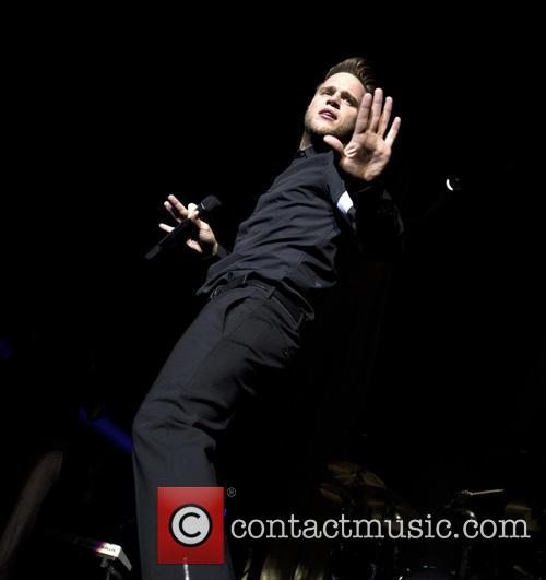 Olly Murs performs at the Heineken Music Hall