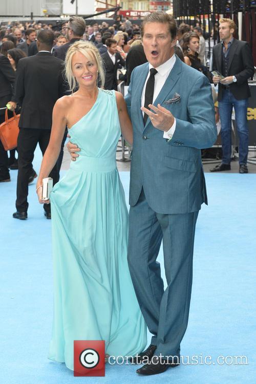 Hayley Roberts and David Hasselhoff 4