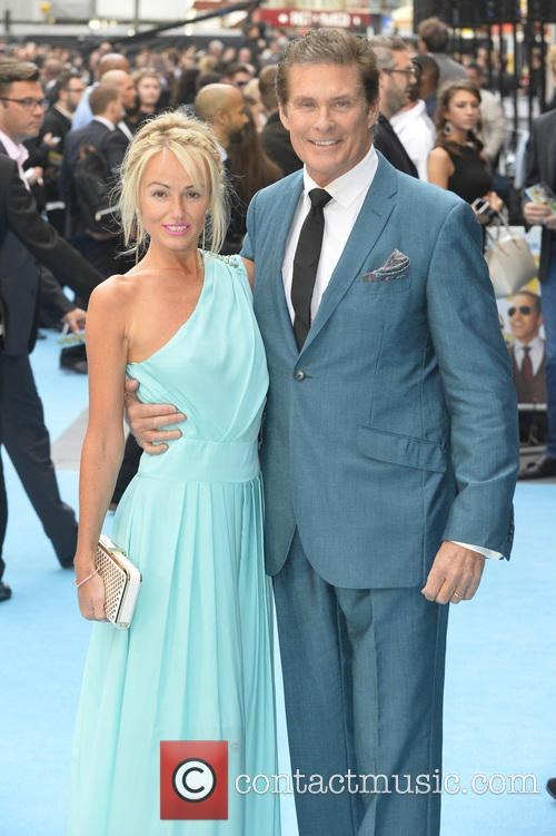 Hayley Roberts and David Hasselhoff 5