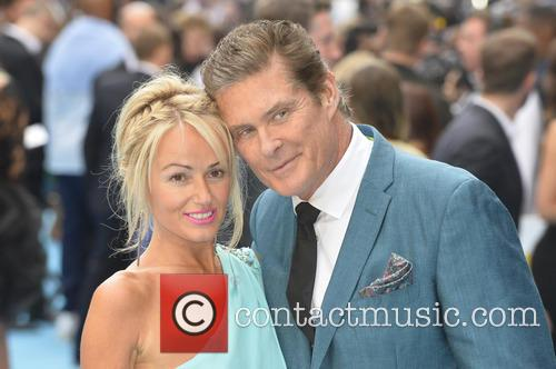 Hayley Roberts and David Hasselhoff 6