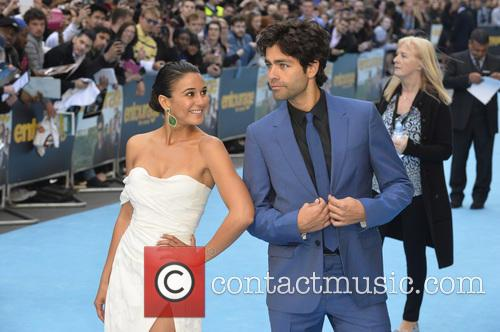 Emmanuelle Chriqui and Adrian Grenier 3