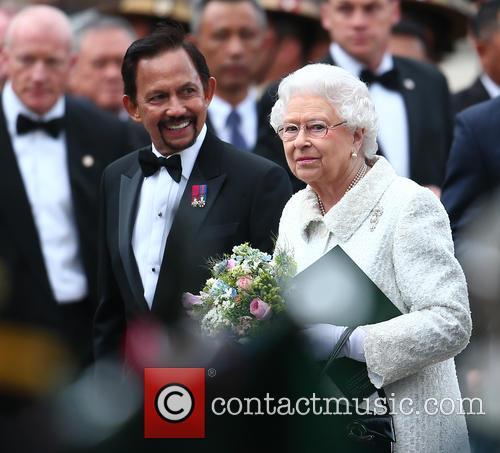 Queen Elizabeth Ii and Hrh Sultan Of Brunei 8