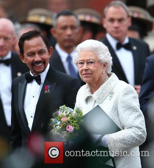 Queen Elizabeth Ii and Hrh Sultan Of Brunei 9