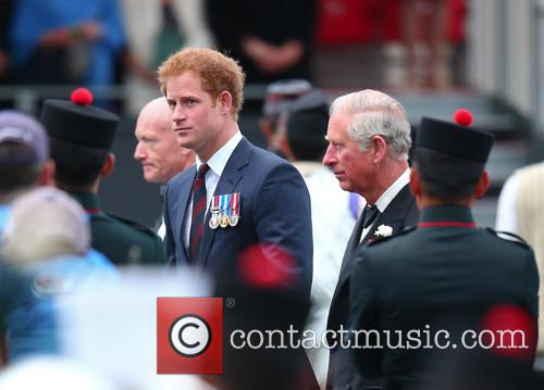 Prince Harry and Prince Charles 3