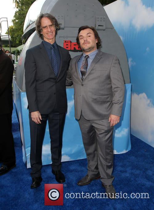Jay Roach and Jack Black 4