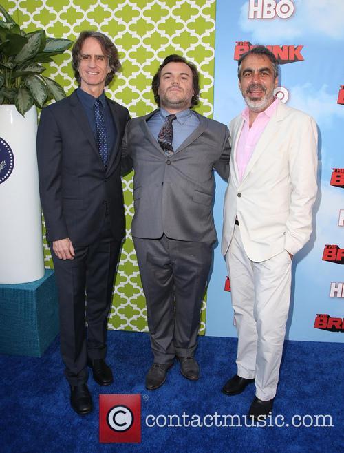 Jay Roach, Jack Black and Roberto Benabib 9