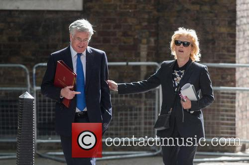 Michael Fallon and Anna Soubry 3