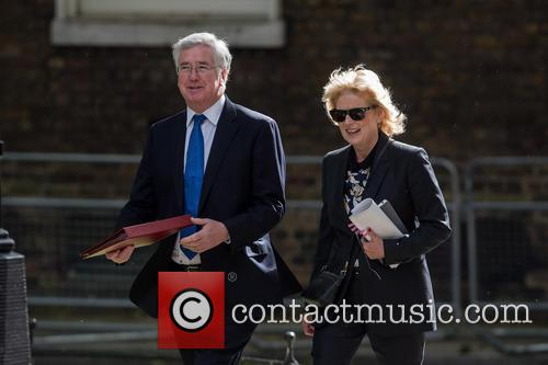 Michael Fallon and Anna Soubry 5