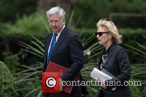 Michael Fallon and Anna Soubry 1