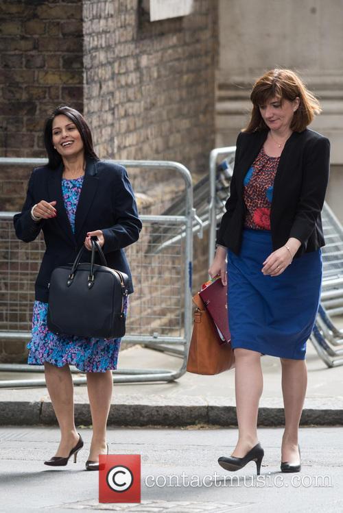 Priti Patel and Nicky Morgan 2