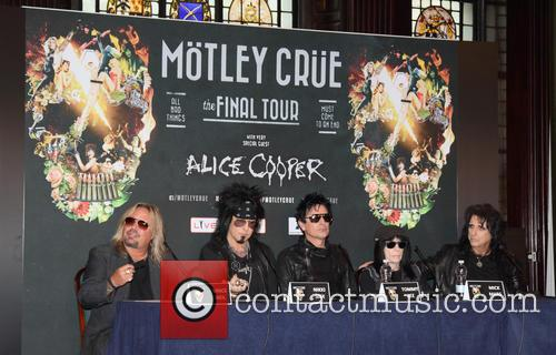 Motley Crue and Alice Cooper 2