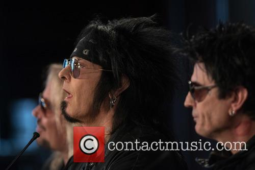 Vince Neil, Nikki Sixx and Tommy Lee 2