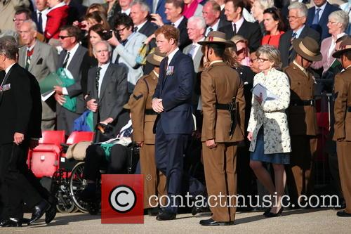 Queen Elizabeth Ll, Prince Philip, Duke Of Edinburgh and Prince Harry 10