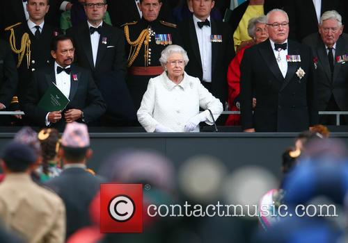 Queen Elizabeth Ii and Hrh Sultan Of Brunei 2