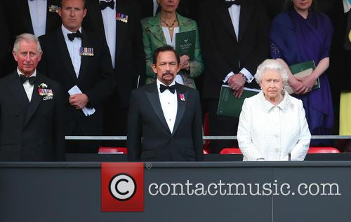 Queen Elizabeth Ii, Hrh Sultan Of Brunei and Prince Charles 8
