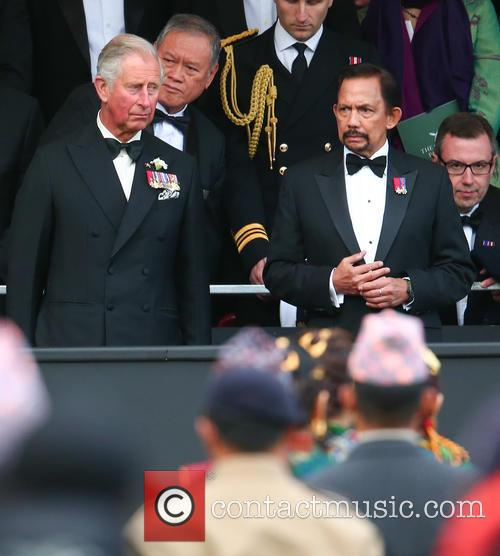 Prince Charles and Hrh Sultan Of Brunei 1