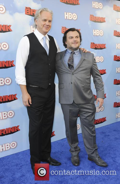 Tim Robbins and Jack Black 7