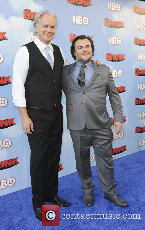 Tim Robbins and Jack Black 8