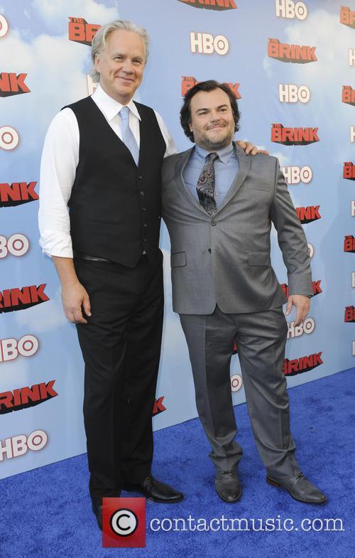 Tim Robbins and Jack Black 9