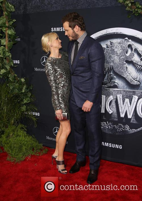 Anna Faris and Chris Pratt 9