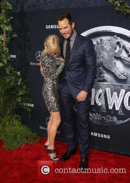 Anna Faris and Chris Pratt 11