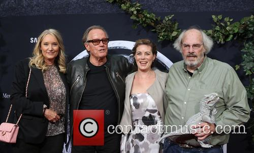Margaret Devogelaere, Peter Fonda and Jack Horner 5