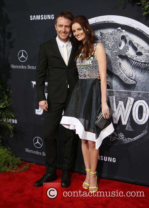 Chris Hardwick and Lydia Hearst 6